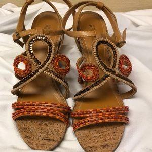 "Kenneth Cole Reaction 3"" heel sandals"